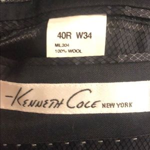 Kenneth Cole Suits & Blazers - Kenneth Cole black sport coat